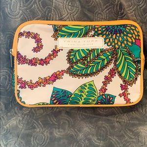 Trina Turk cosmetic bag x Clinique paisley clutch